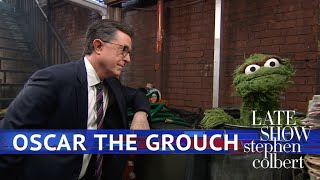 Oscar The Grouch & Stephen Colbert Sing 'Things Are Going To Get Better'