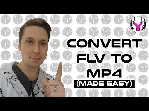 Turn an FLV into a mp4 | CaponDesignTV