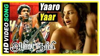 Arima Nambi Movie Scenes | Title Credits | Yaaro Yaar Song | Vikram Prabhu falls for Priya Anand
