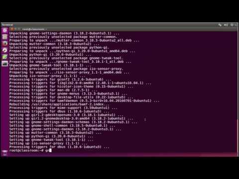 How to install gnome tweak tool ubuntu