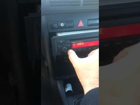 Desbloqueio codigo safe code rádio Audi concert Symphony Multimedia e Outros