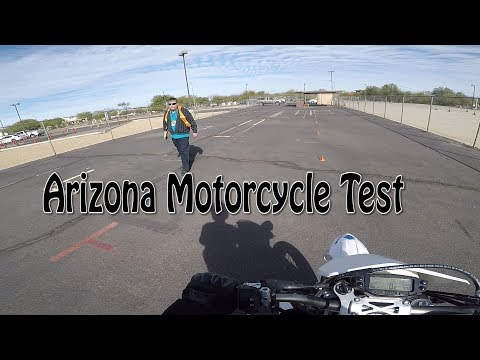 Arizona Motorcycle License Test