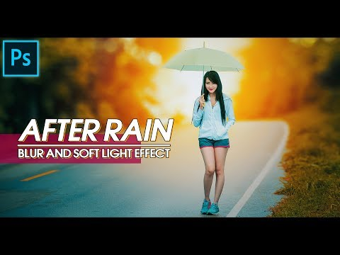 Photoshop Tutorial | Adding Blur and Soft Light Effect