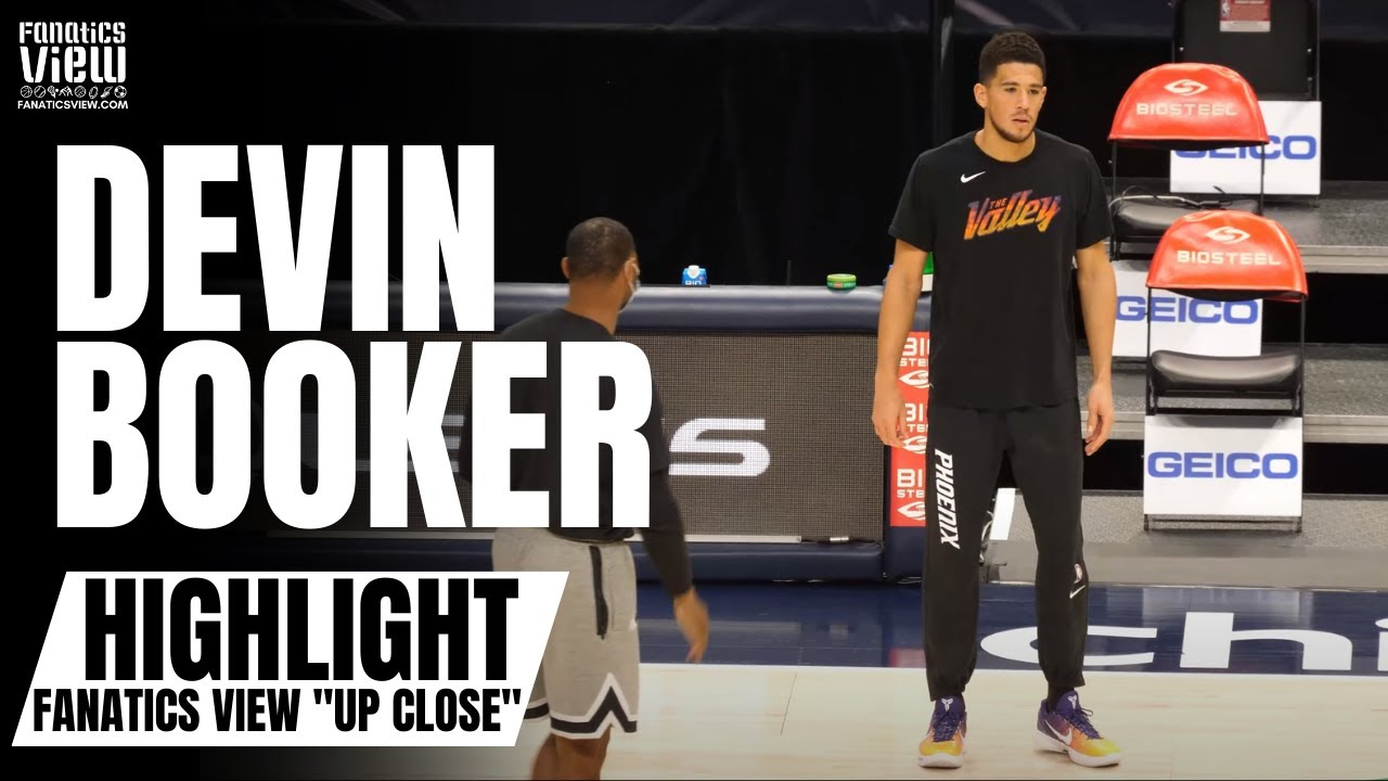 """Devin Booker Shows Off Impressive & Quick 3-Point Trigger in On Court Workout   FV """"Up Close"""""""