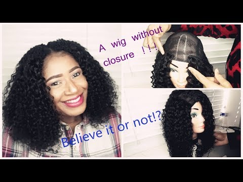 How to make a wig without closure?| save money+hair tutorial