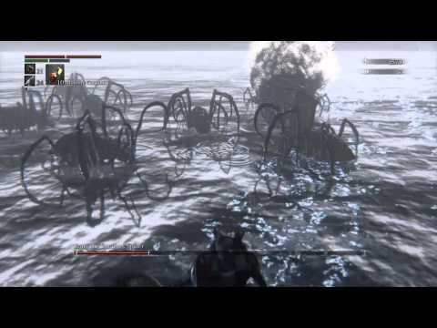 Bloodborne Moonside Lake - How to beat Rom. The Vacuous Spider