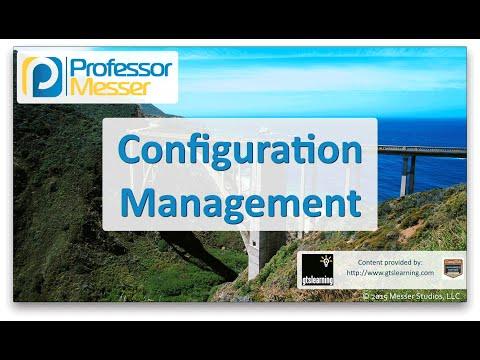 Configuration Management - CompTIA Network+ N10-006 - 2.3