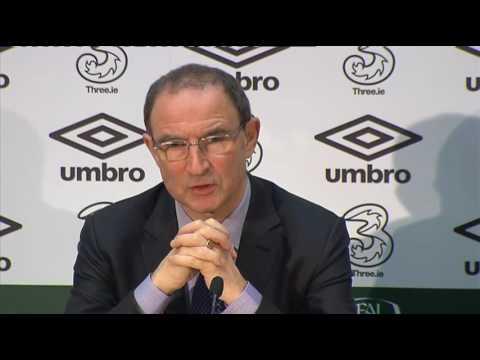 Austria v Republic of Ireland - Pre Match Press Conference - Martin O'Neill (2/11/16)