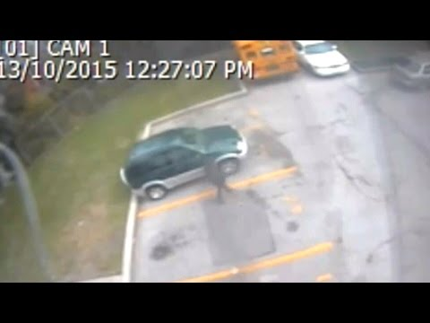 Security video of person of interest in abduction attempt