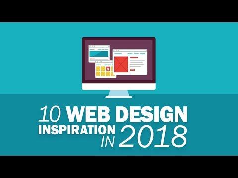 10 Awesome Web Design Inspiration 2018