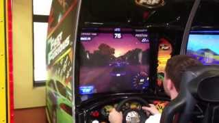 Arcade Gameplay: The Fast and the Furious by Raw Thrills, Columbia Sports Park, MD