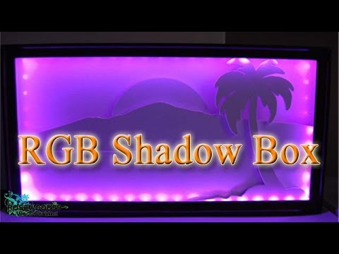 How To Make A RGB Or LED Shadow Box