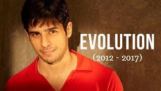 Sidharth Malhotra Evolution (2012 - 2017)