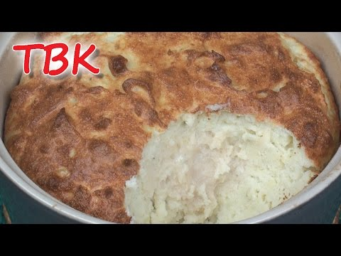 Fluffy Cheese and Potato Soufflé Recipe - Titli's Busy Kitchen