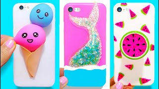 Download 3 DIY STRESS RELIEVER PHONE CASES   Easy & Cute Phone Projects & iPhone Hacks Video