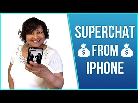 How To Give YouTube SuperChat on iPhone