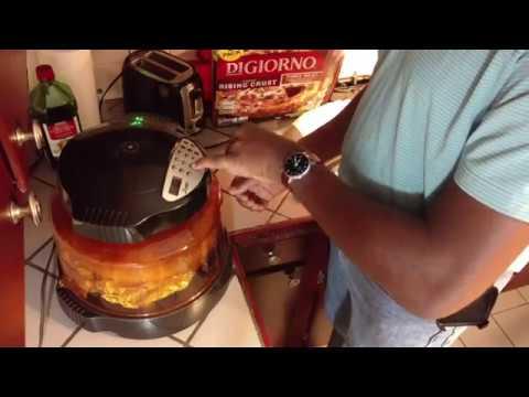 Frozen Pizza NuWave Oven Heating Instructions