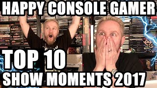 TOP 10 HAPPY CONSOLE GAMER Moments 2017 - Happy Console Gamer