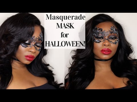 MASQUERADE MASK (HALLOWEEN MAKEUP TUTORIAL)