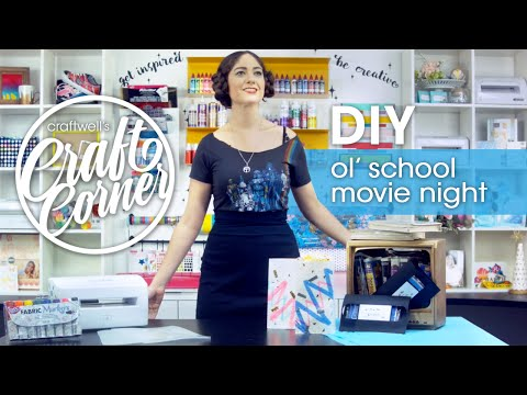 Craftwell's Craft Corner - Ep. 3 - Movie Night Madness!