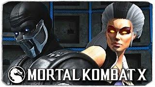 Mortal Kombat X PC NPC Sindel (Classic MK3) Skin Mod