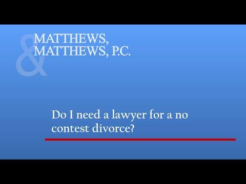 Do I Need a Lawyer for a No Contest Divorce? | Divorce Lawyer Denver