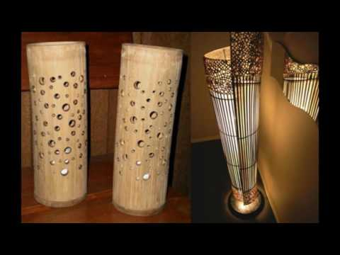 Creative Bamboo Handicraft Products From Indonesia