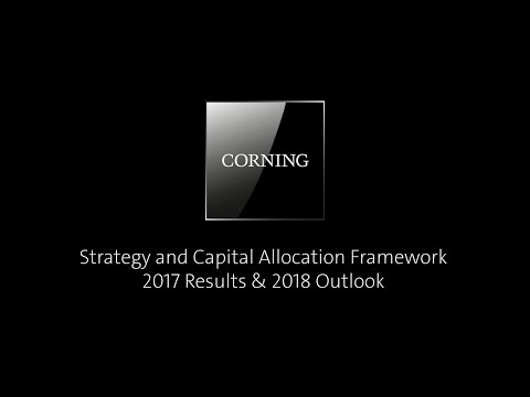 February 2018: Jeff Evenson, Chief Strategy Officer, recaps our 2017 financial performance