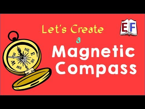 Make a Magnetic Compass : School Science Project Experiment