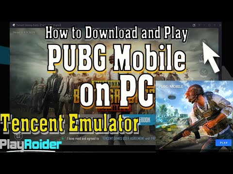 How to Play PUBG Mobile on PC OFFICIAL English Tencent Emulator!