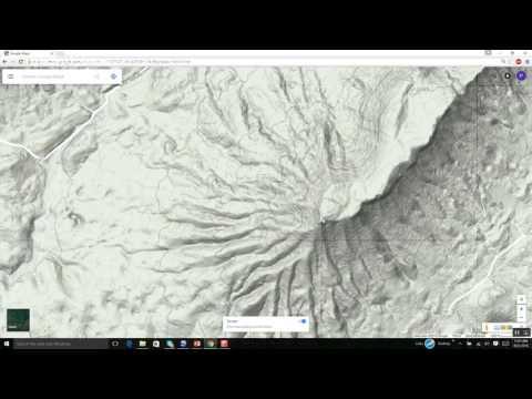 Appalachian landscapes 4: Google Maps Terrain perspective