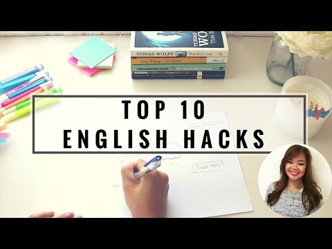 TOP TEN ENGLISH STUDY HACKS | Lisa Tran