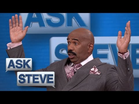 Ask Steve: You swiped right on your teacher? || STEVE HARVEY
