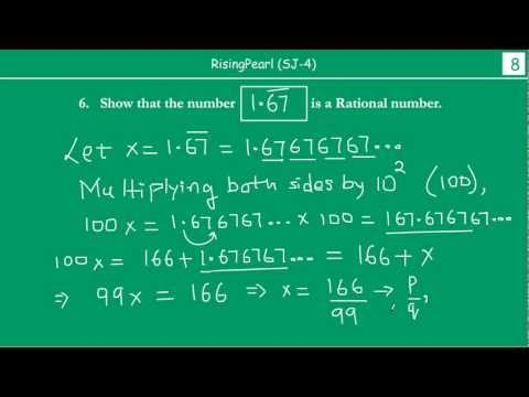 How to convert decimal numbers to Rational numbers (3 of 4)