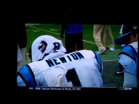 Liam and Cam Newton...Superman!