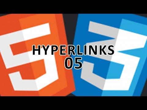 HTML 5 & CSS 3 - 5 - Hyperlinks