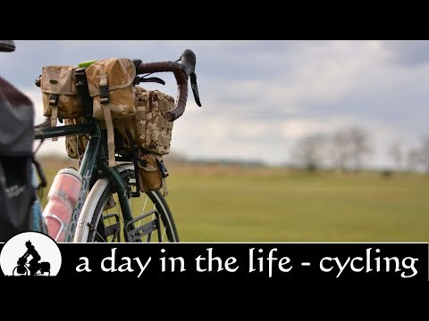 day in the life: bicycle touring documentary ✔