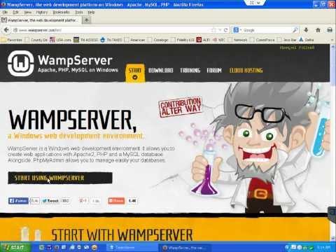 How to setup WAMP for WordPress