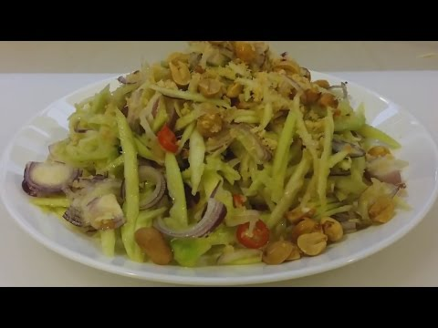 Thai Mango Salad -  ยำมะม่วง