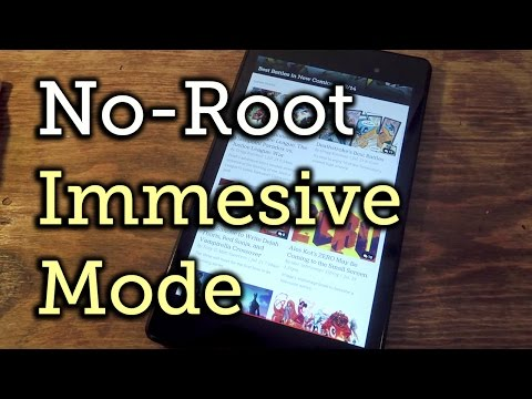 Enable Full-Screen Immersive Mode on Android (No Root Required) [How-To]