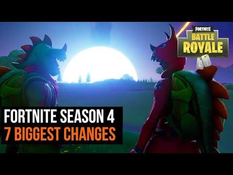 7 Biggest changes in Fortnite Season 4