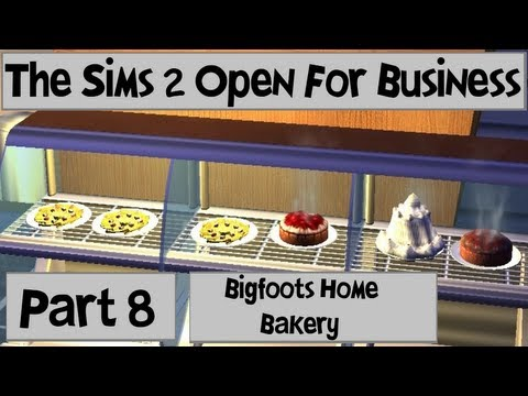 Let's Play: The Sims 2 Open For Business (Part 8) w/Commentary