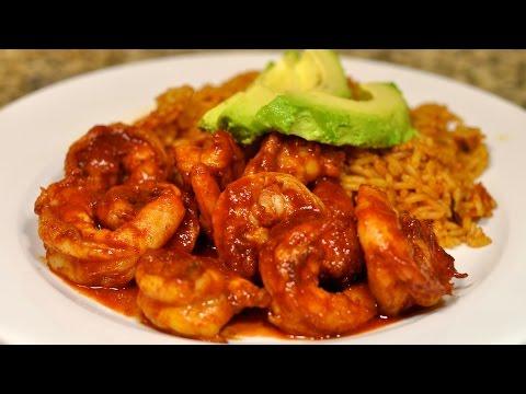 Spicy Mexican Shrimp with Chipotle Recipe / Camarones ala Diabla con Chipotle