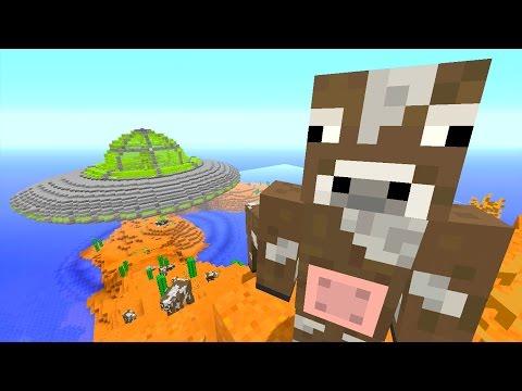 Minecraft Xbox - Ocean Den - Space Cows! (13)