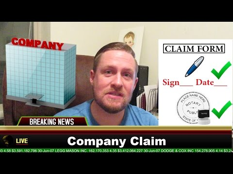 UNCLAIMED MONEY How to File a Claim for a Company