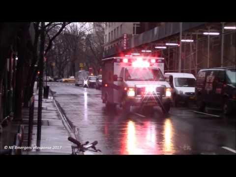 NYU Langone Medical Center EMS Ambulance Responding