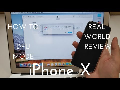 The REAL Way to Enter DFU Mode on the iPhone X