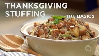 How To Make Thanksgiving Stuffing The Basics On Qvc