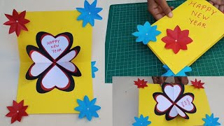 happy new year pop up greeting how to make