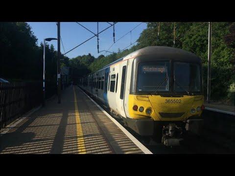 Trains at Welwyn North 2018